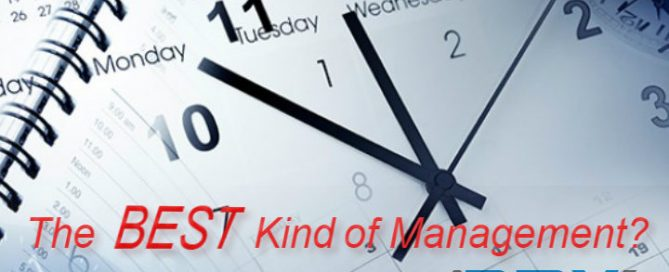 Time Management - The Best Kind of Management