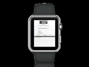 Work Orders Smartwatch