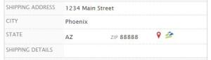 CRM Address Tracking