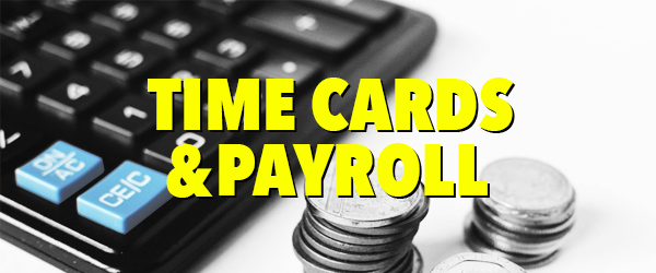 Time and Pay Roll