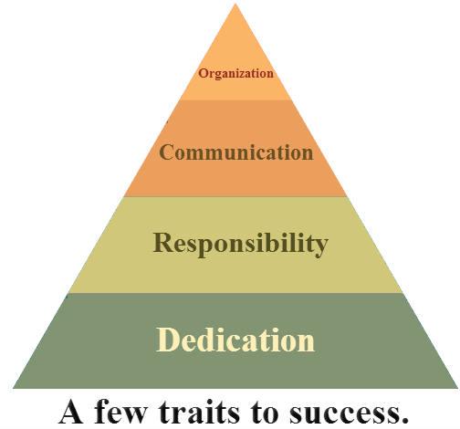 Few Traits to Success