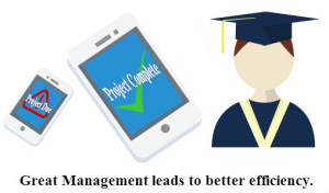 Great Management leads to better efficiency