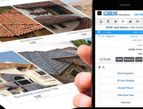 Working In the Field With Roofing Contractor Software