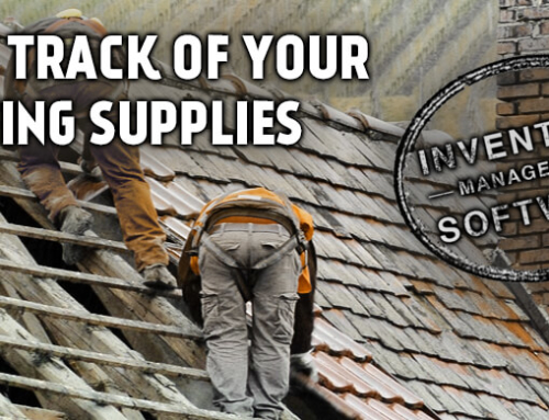 Keeping Track of Roofing Supplies With Inventory Management Software