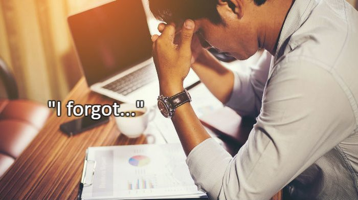 It is Easy to Forget | Business Tips by Pro DBX Software